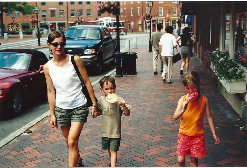 Aunt Juli with David and Rachel
