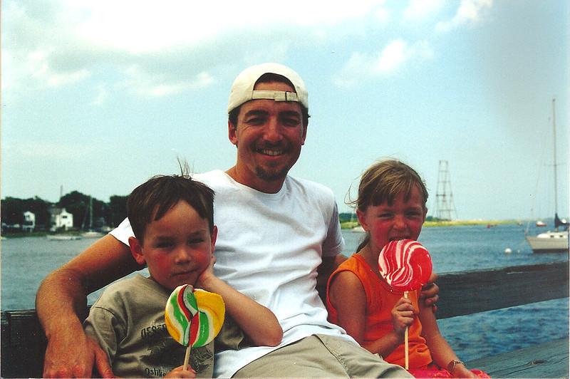 David, Uncle Jon and Rachel