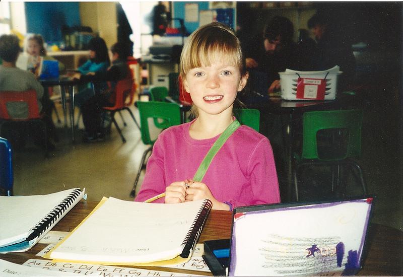 Rachel at school