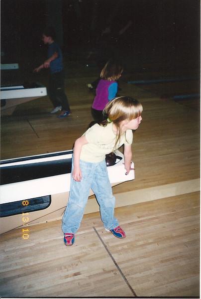 Rachel bowling