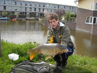 2008-04-28 en 29 vissen met Chris en Vincent Groen