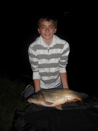 2008-08-28: nachtvissen met Yorick