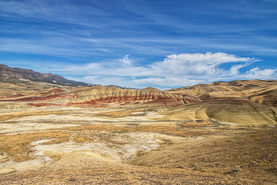 Vista: Painted Hills | John Day National Monument