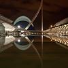 14. Ciudad de las Artes y Ciencias de Noche