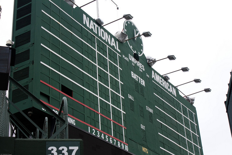 Wrigley Field tour, March 13, 2011