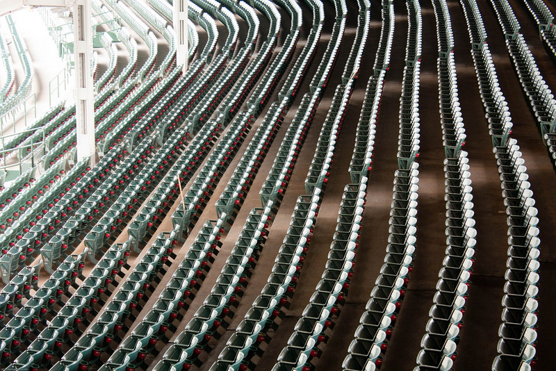 Wrigley Field tour, March 13, 2011