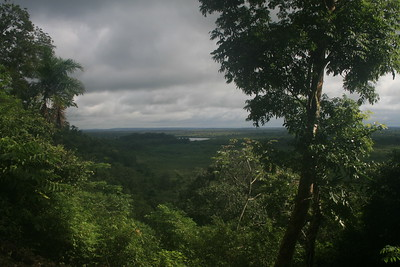 View from Aguateca Ruins