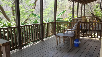 My Cabin Porch in Forest