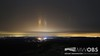 Light Pillars over North Conway, NH