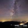 Milky Way over Mt Lafayette