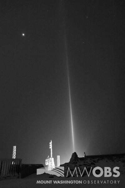 Light Pillar, 9 Feb 2016