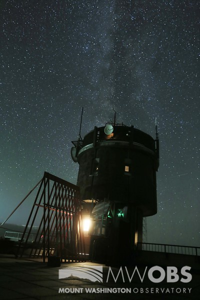 Milky Way above the Instrument Tower