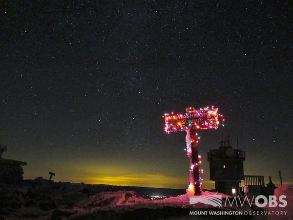 Christmas On Mount Washington