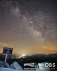 Milky Way over the Mount Washington Valley