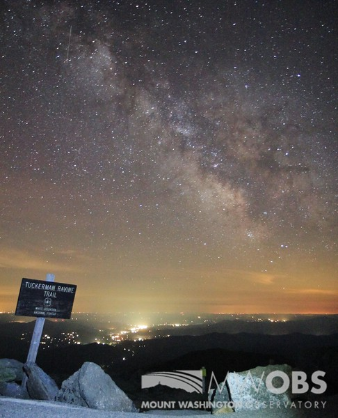 Milky Way over the Mount Washington Valley