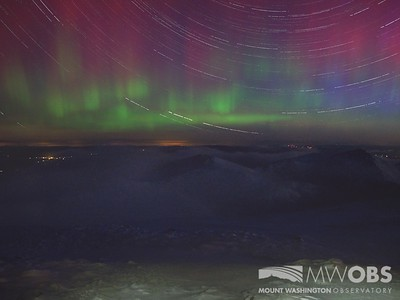 Aurora and Star Trails