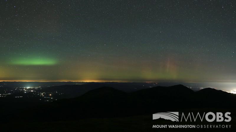 November Northern lights
