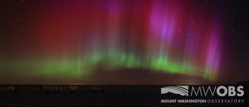 The Northern Lights that occurred during March 2013.