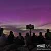 Summit Crew viewing the Northern Lights