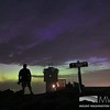 Viewing the Northern Lights From the Summit Sign