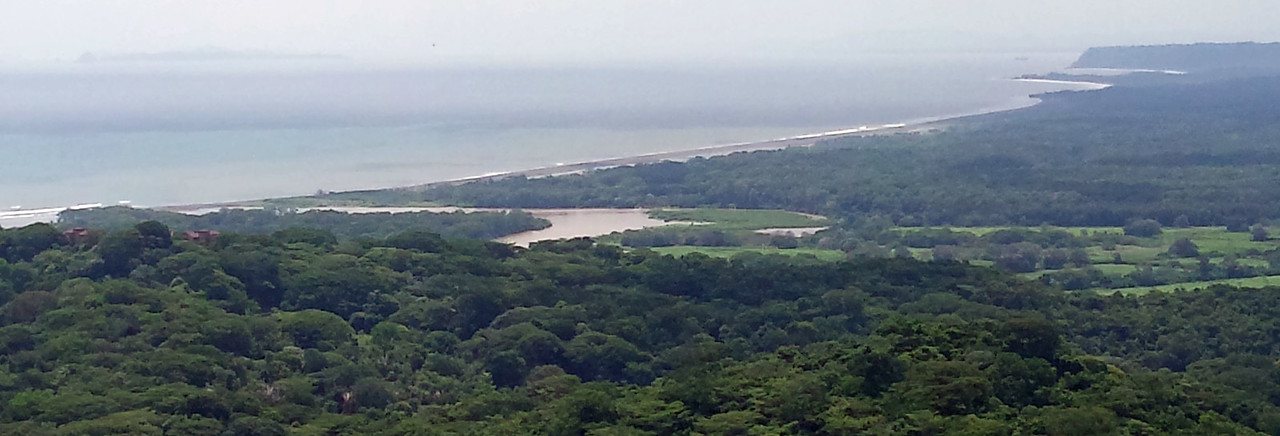 Mouth of River Tarcoles