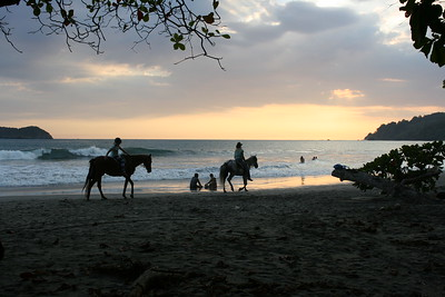 Horse Riding on Manual Antonio Public Beach
