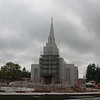 LDS Temple under construction, Vancouver, BC