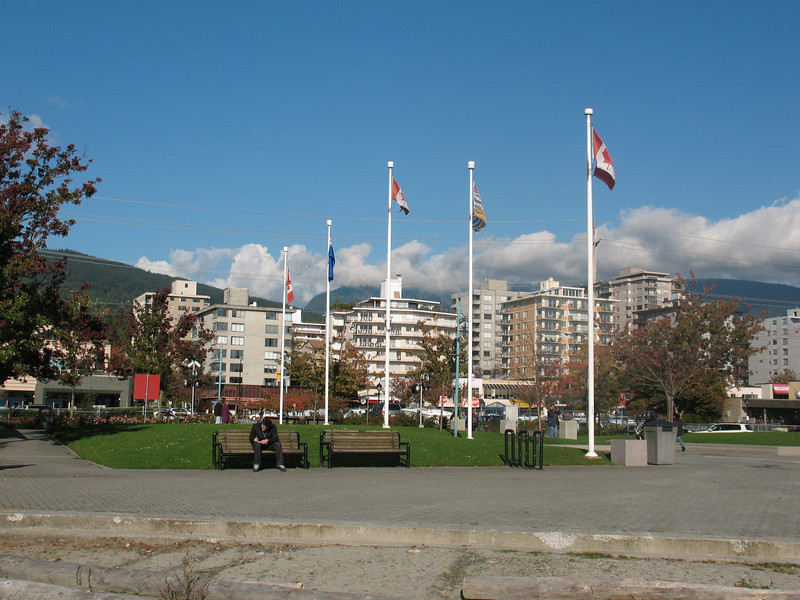 Park on north shore, West Vancouver, BC