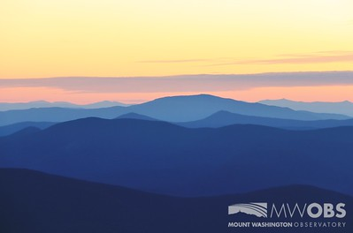 Mt Moosilauke et al at sunset