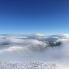 Cap Clouds and Lenticulars Over Northern Peaks