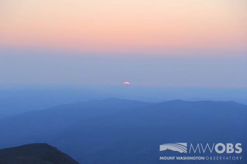 Hazy Sunrise, 12 May 2016