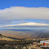 Stacked Lenticulars to The East