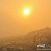 Sunrise through the Fog at the Nelson Crag Trailhead