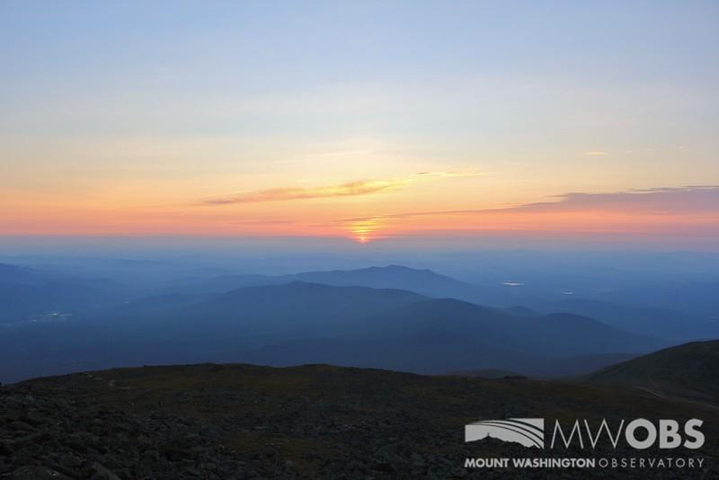 Sunset, 16 August 2015