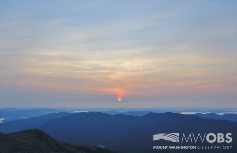 Sunrise, 29 August 2015