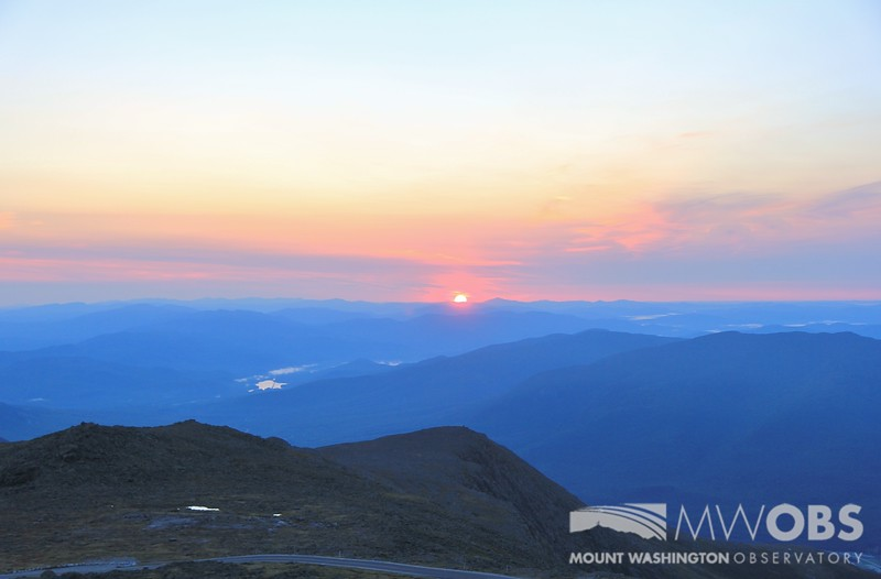 Sunrise with Ball Crag & Nelson Crag in the foreground