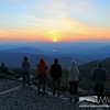 Observatory Staff viewing Sunset