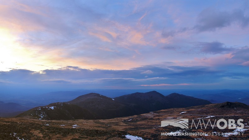 Sunset Colors over the Northern Presidentials