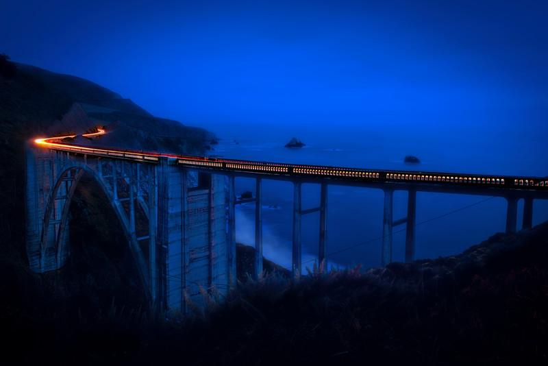 Bixby Creek Bridge. Big Sur