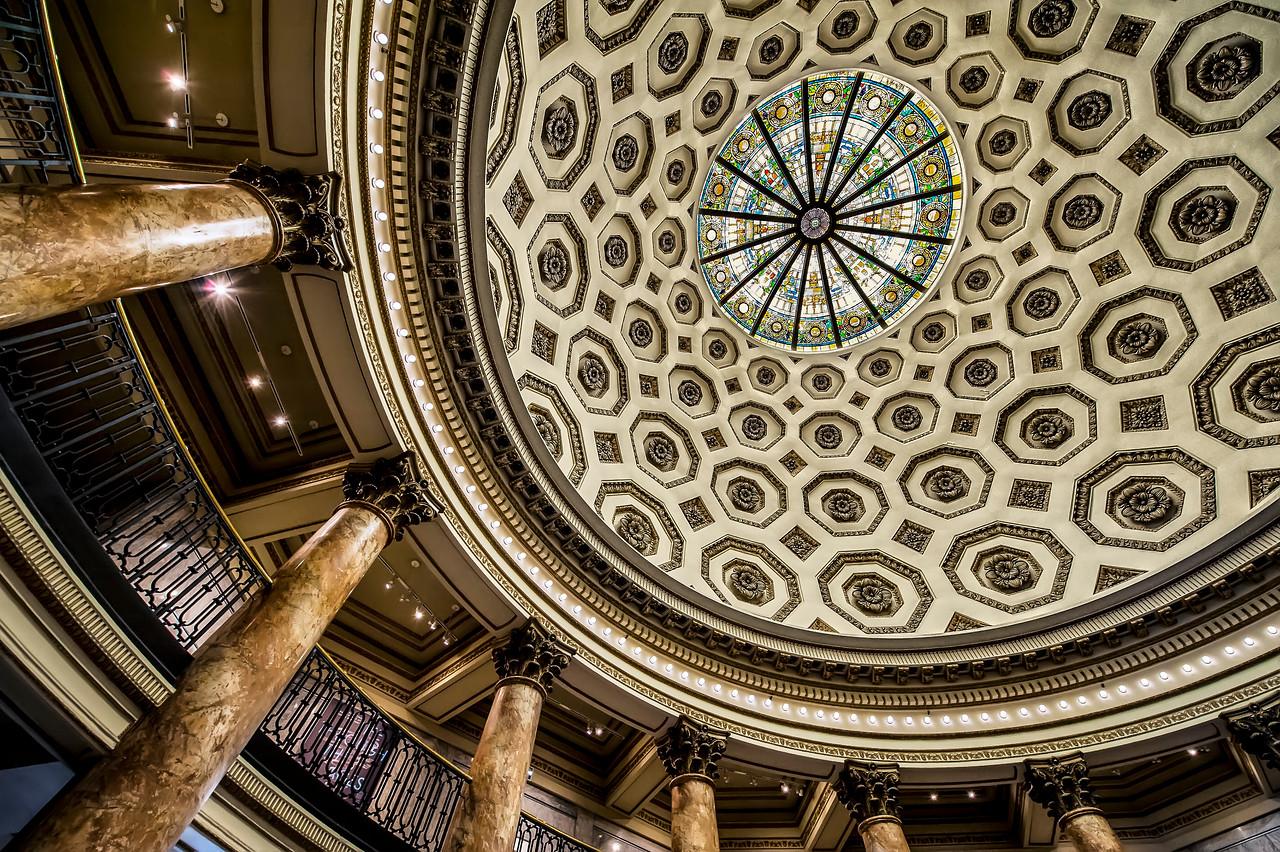 Rotunda, Los Angeles Natural History Museum