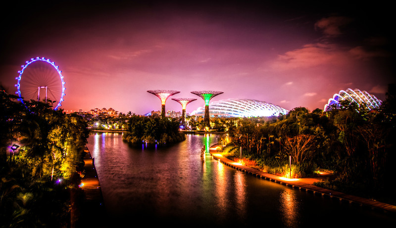 Color, Light and Beauty @ The Gardens By The Bay.