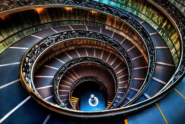 Bramante's Modern Staircase