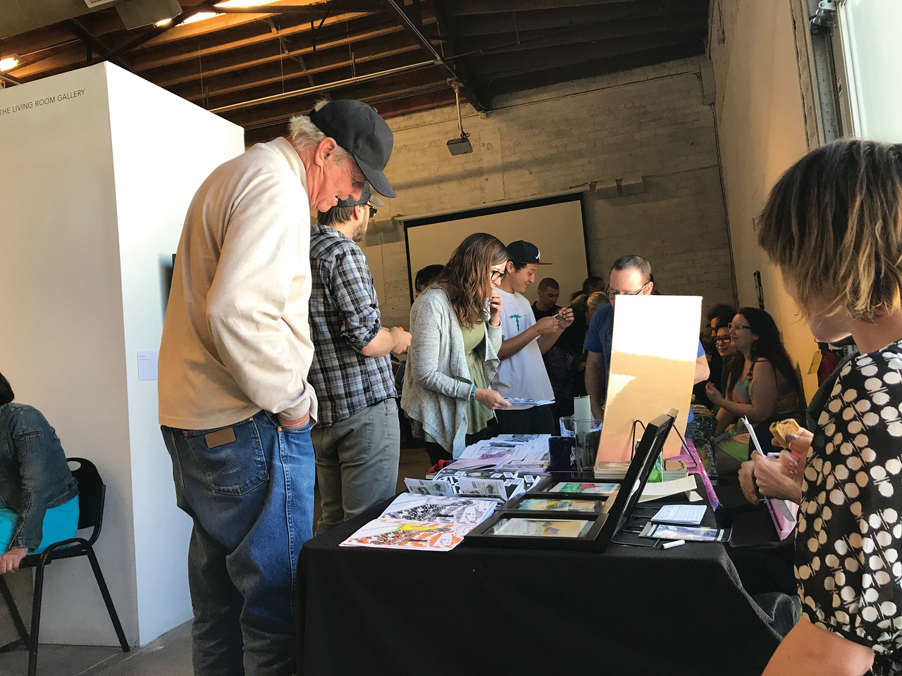 Santa Fe Zine Fest '17 - Courtesy of Bucket Siler