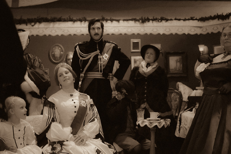 "All hail Queen Victoria!<br /> <br /> <a href=""http://www.dickensfair.com/"">http://www.dickensfair.com/</a>"