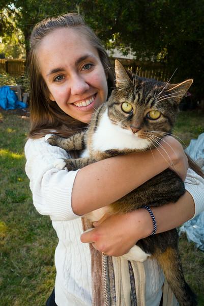 Cora & Baby Kitty