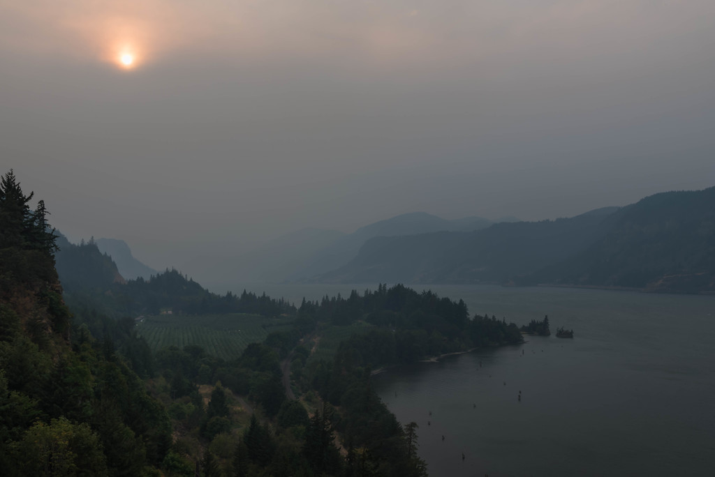 Columbia River Gorge, 9-07-2017