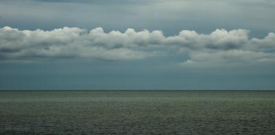 Storm line, West Dennis Beach, MA
