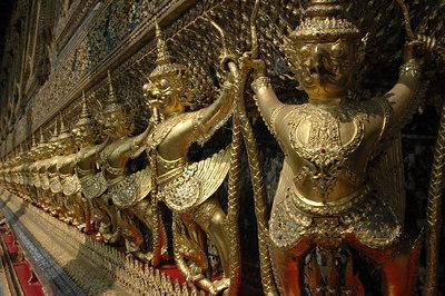 Wat Prah Gaw Bangkok, Thailand