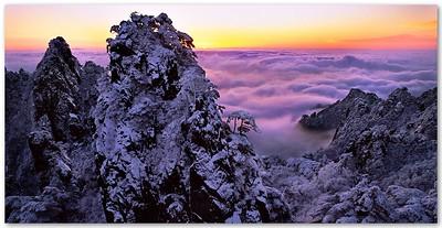Yellow Mountain Dawn