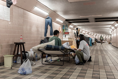 On a rainy Sunday in Hong Kong, a small group of volunteers gathers to discuss ways to help those less fortunate. Three hours later, they have solicited donations, purchased 20 meals from a local restaurant, and hand-delivered them to a group of homeless men and women living underground. Not only did they provide a hot meal but a warm smile,  acknowledgement of their challenges, and a chance to get additional support from Impact HK, a local NGO that provides housing, employment, and a social network for those in need.